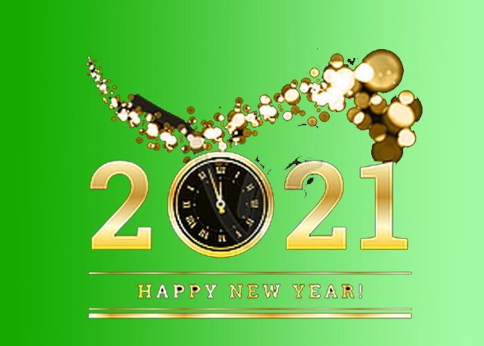 Rigtig Godt Nytår 2021